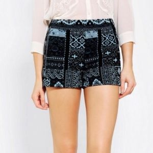Urban Outfitters Ecoté Tapestry Shorts
